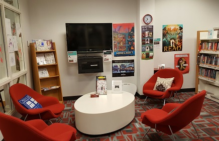 teen gaming area